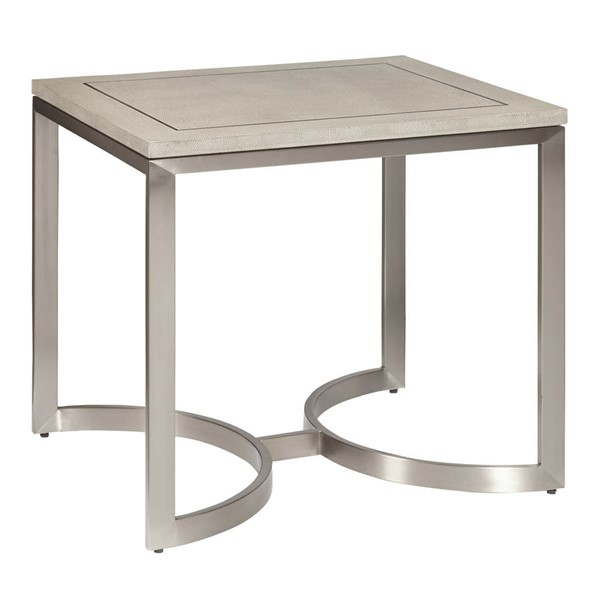 Home Meridian City Chic Light Grey Modern End Table RH-DS-D199-205