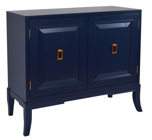 Home Meridian Blue Two Door Accent Chest RH-DS-D204-002A