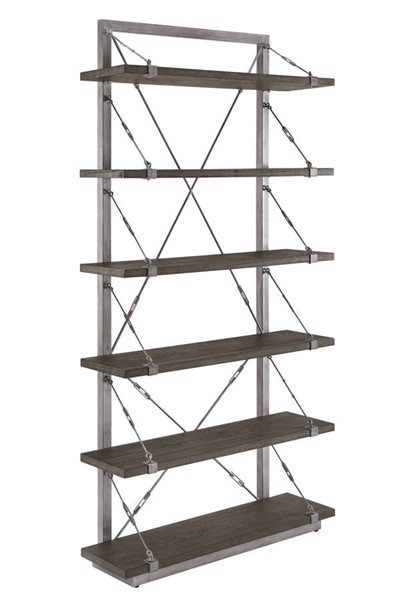 Home Meridian Brown Cable Shelf Etagere RH-DS-D260-302