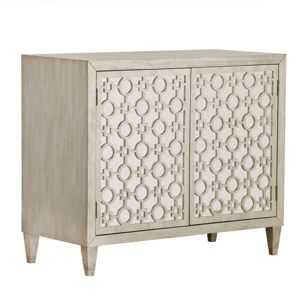 Home Meridian Beige Mirrored Accent Chest RH-DS-D264-010