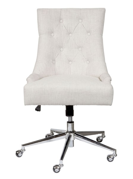 Home Meridian Beige Button Tufted Adjustable Office Chair RH-DS-D274-702-1