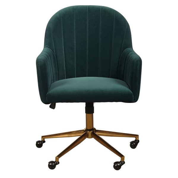 Home Meridian Green Channel Tufted Office Chair RH-DS-D274-705-1