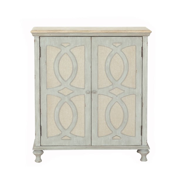 Home Meridian Grey Two Door Accent Chest RH-DS-D303-003