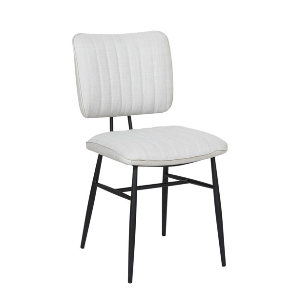 Home Meridian White Channel Back Dining Chair RH-DS-D313-703-1
