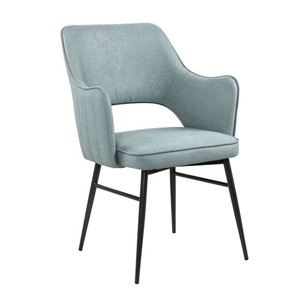 Home Meridian Blue Fabric Dining Chair RH-DS-D313-707-1