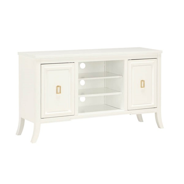 Home Meridian White 2 Doors TV Console RH-DS-D318-101
