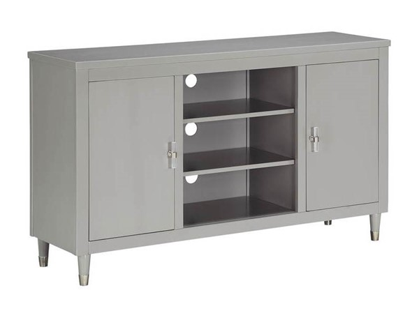 Home Meridian Grey 2 Doors TV Console RH-DS-D318-102