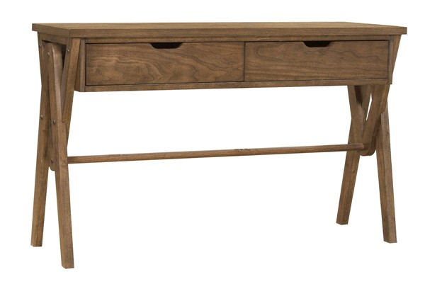 Home Meridian Brown Two Drawer Console Table RH-DS-D373-102