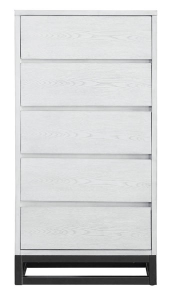 Home Meridian White Industrial Chest RH-DS-D375-005