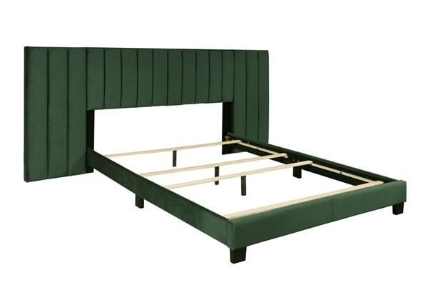 Home Meridian Emerald Green King Upholstered Bed RH-DS-D423-291-2