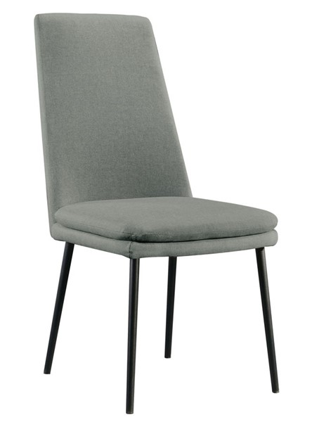 2 Home Meridian Gray Modern Dining Chairs RH-DS-D438-700-2