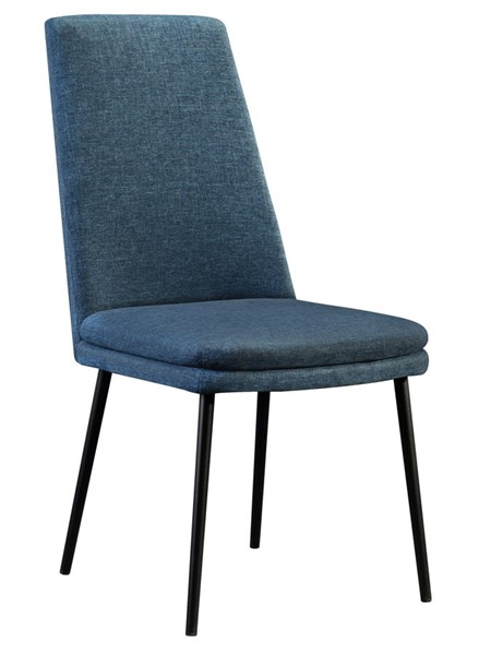 2 Home Meridian Blue Modern Dining Chairs RH-DS-D438-700-3