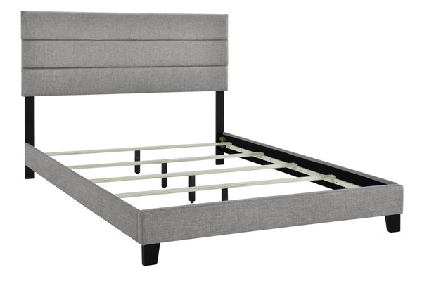 Home Meridian Gray King Slat Bed RH-DS-D443-291-3