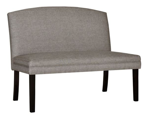 Home Meridian Taupe Arch Back Settee RH-DS-D466-180