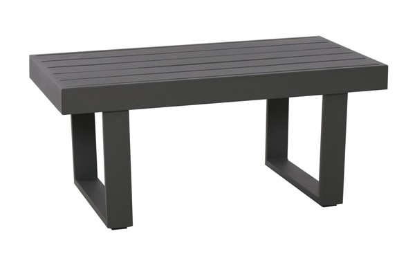 Home Meridian Gray Metal Cocktail Table RH-DS-D471-210-1