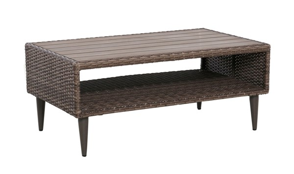 Home Meridian Brown Cocktail Table RH-DS-D472-210-1