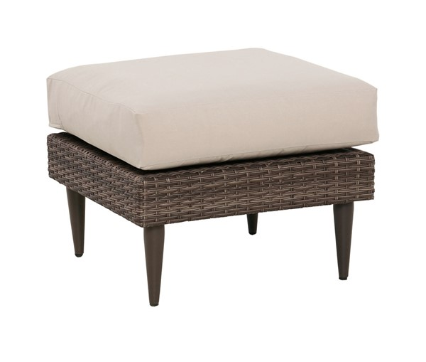 Home Meridian Brown Weaved Ottoman RH-DS-D472-600-1