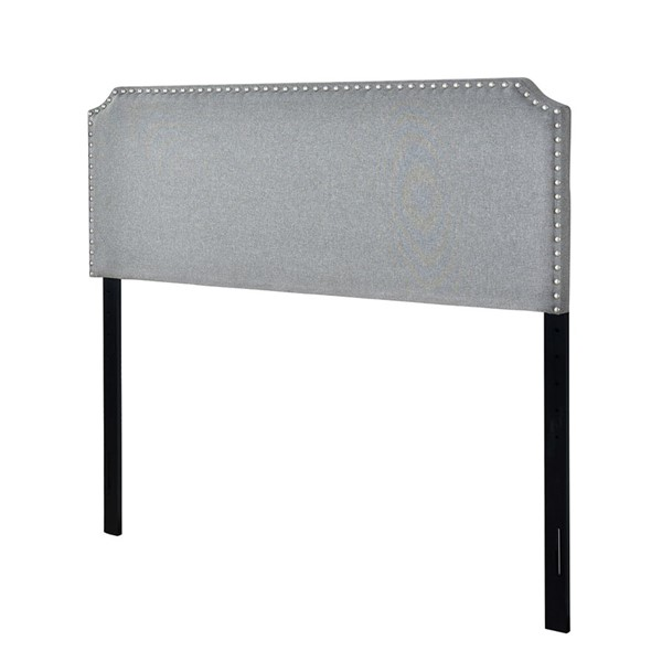 Home Meridian Gray King Clip Corner Headboard RH-DS-D500-270