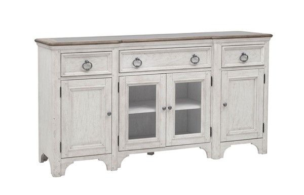 Pulaski Glendale Estates Distressed White Buffet RH-P166302