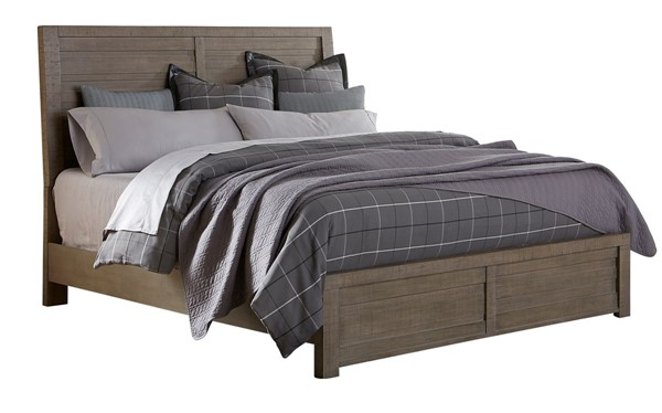Samuel Lawrence Ruff Hewn Weathered Taupe Beds RH-S079-BED-VAR