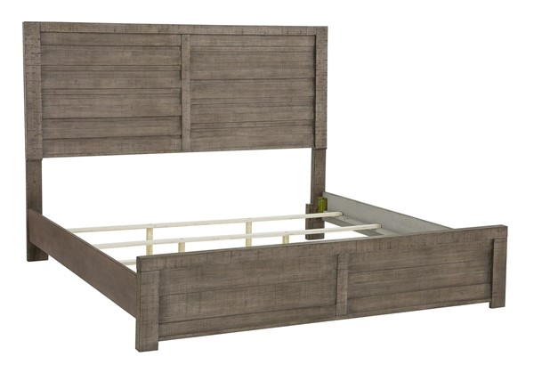 Samuel Lawrence Ruff Hewn Weathered Queen King Bed Rails RH-S079-400