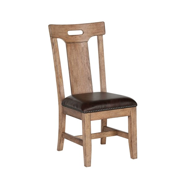 2 Samuel Lawrence City Brewery Blonde Side Chairs RH-S232-282