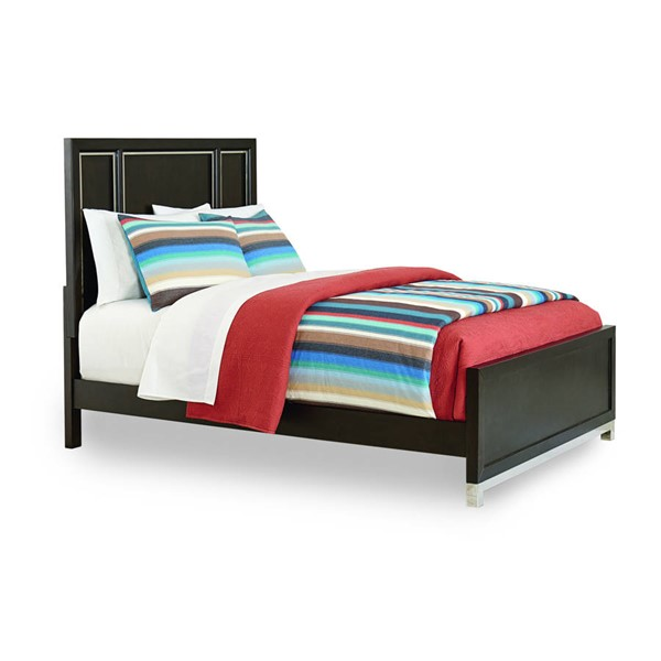 Samuel Lawrence Metro Charcoal Gray Panel Beds RH-S258-BED-VAR