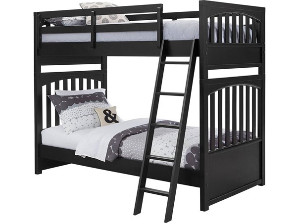 Samuel Lawrence Charcoal Twin Twin Bunk Bed RH-S302-YBR-K1