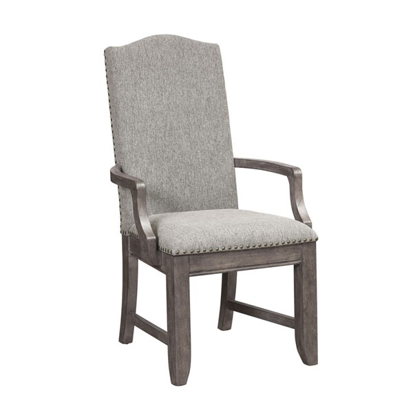 Samuel Lawrence Lasalle Gray Arm Chair RH-S546-157