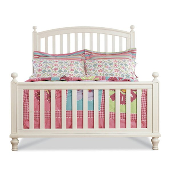 Pawsitively Yours Traditional White Wood Twin Bed w/Slat RH-634160-TB