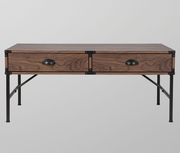 Saint Birch Brunei Walnut Coffee Table SANT-SBBX8300CTWN