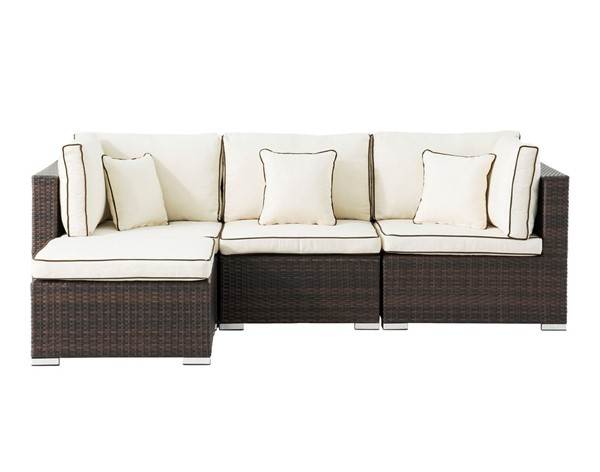 Saint Birch Carrington 4pc Rattan Sectional Seating Sets SANT-SBDYTA01-OUT-SEC-V1