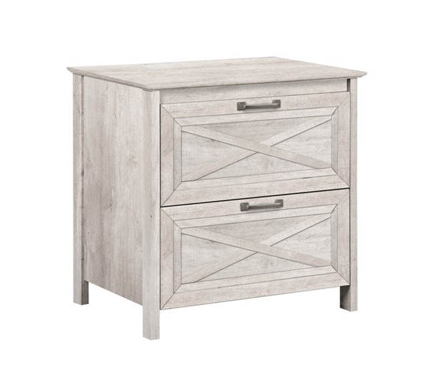 Saint Birch Honduras Washed Gray Two Drawers Lateral Filing Cabinet SANT-SBSF4009LFWG