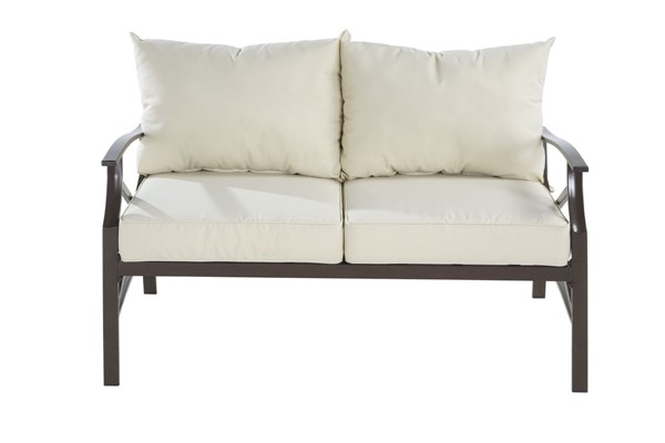Saint Birch Luxi Beige Loveseat with Coffee Table SANT-SBSWOCS001LSCTBG