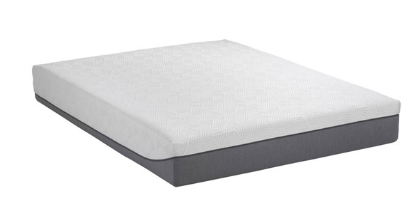 South Bay Peony 10 Inch Bamboo Charcoal Twin Long Memory Foam Mattress SBY-10PENY-TL