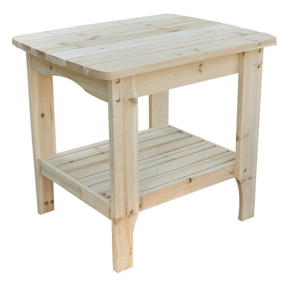 Shine Natural Rectangular Side Table SHN-4103N