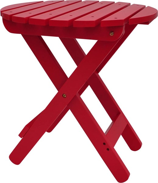 Shine Chili Pepper Adirondack Round Folding Table SHN-4108CP