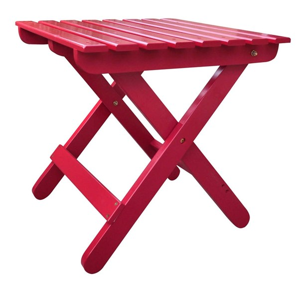 Shine Chili Pepper Adirondack Square Folding Table SHN-4109CP