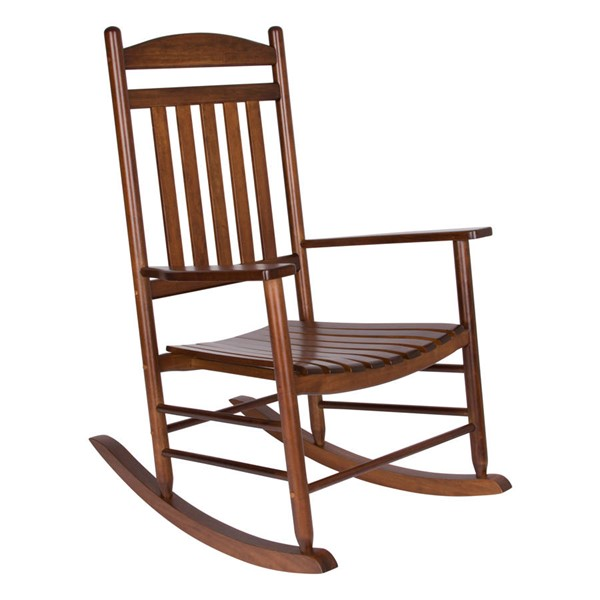 Shine Maine Oak Hardwood Porch Rocker SHN-4331OA