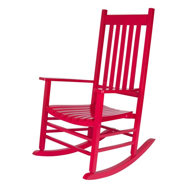 Shine Vermont Solid Wood Porch Rocker SHN-4332-CH-VAR