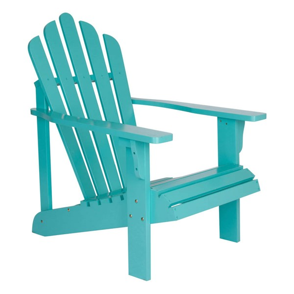 Shine Westport Aqua Cedarwood Adirondack Chair SHN-4611AQ