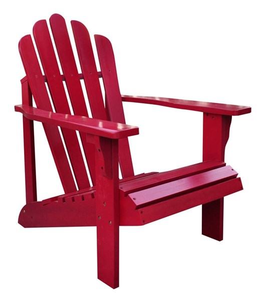 Shine Westport Chili Pepper Cedarwood Adirondack Chair SHN-4611CP