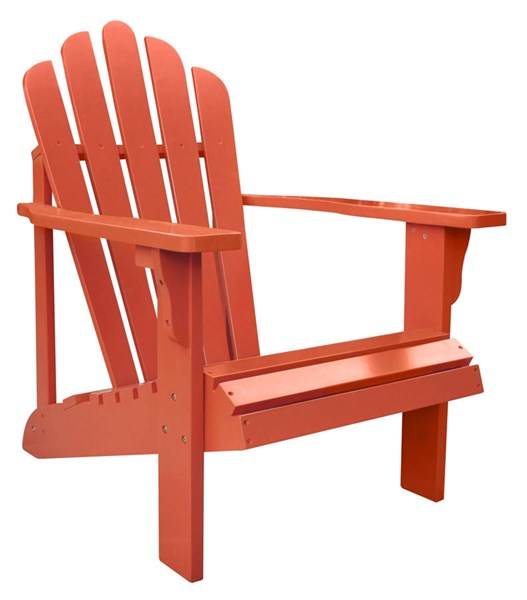 Shine Westport Rust Cedarwood Adirondack Chair SHN-4611RU