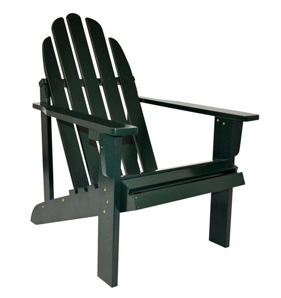 Shine Catalina Dark Green Cedarwood Adirondack Chair SHN-4613DG