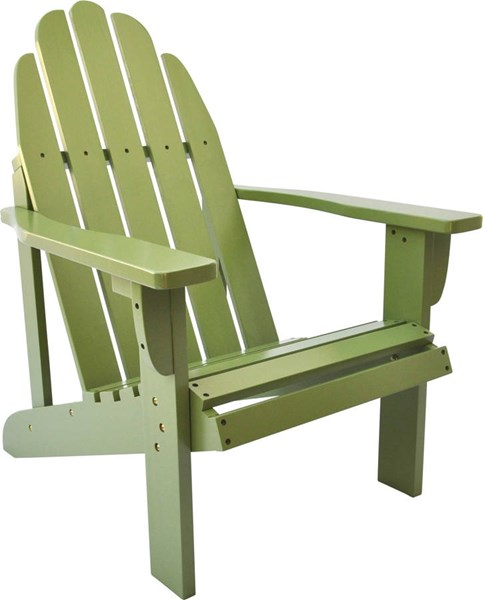 Catalina Traditional Leap Frog Cedarwood Adirondack Outdoor Chair SHN-4613LF