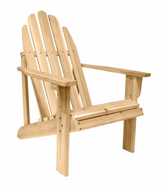 Catalina Traditional Natural Cedarwood Adirondack Outdoor Chair SHN-4613N
