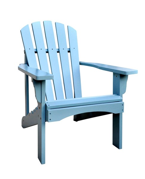 Rockport Dutch Blue Cedarwood Adirondack Outdoor Chair SHN-4617DB
