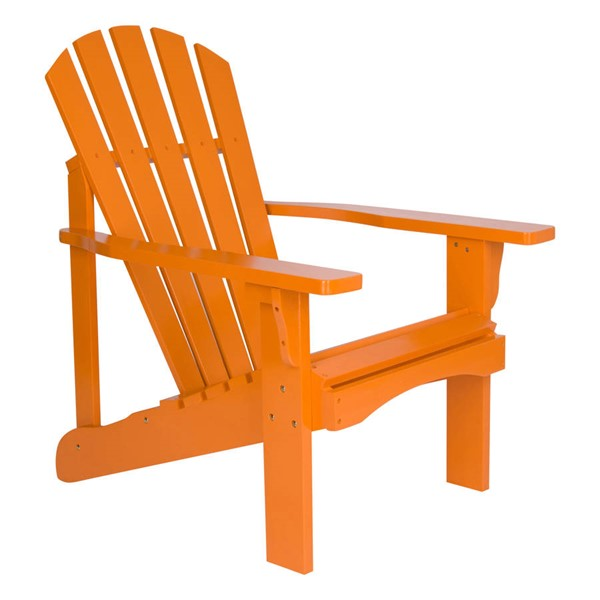Shine Rockport Tangerine Cedarwood Adirondack Chair SHN-4617TA