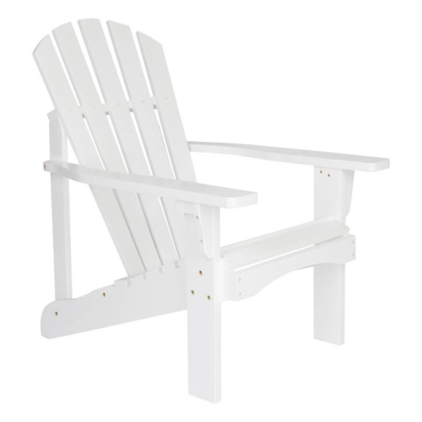 Shine Rockport White Cedarwood Adirondack Chair SHN-4617WT