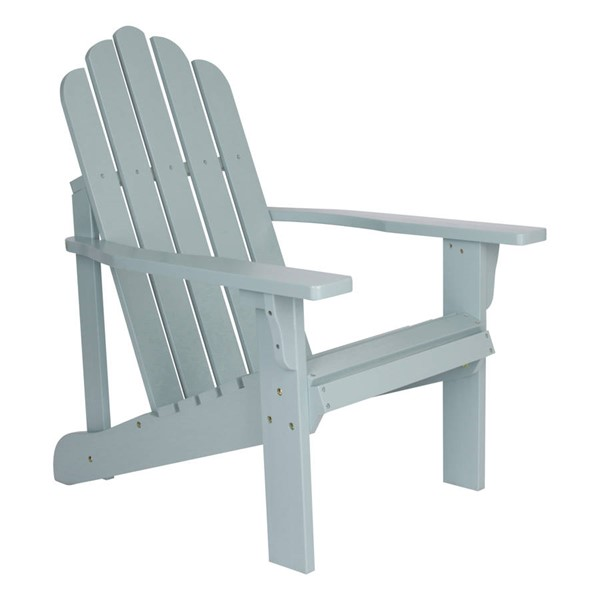 Shine Marina Dutch Blue Cedarwood Adirondack Chair SHN-4618DB